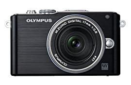Olympus PEN E-PL3 Digital Camera with 17mm Lens (Black)