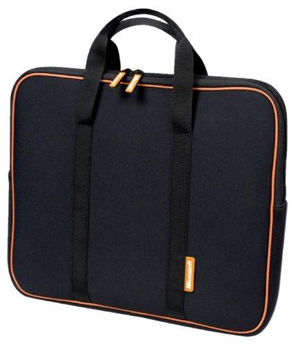 Microsoft 17.3-Inch Neoprene Laptop Sleeve (Black) (39512)