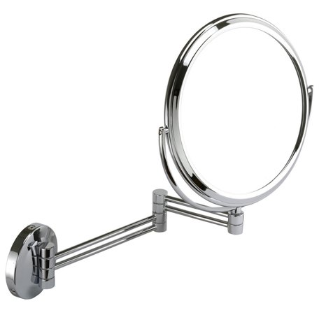 Famego 7x Magnification chrome wall mirror