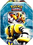 Image of Pokemon Platinum Legendary Collection 2009 Collector Tin Set Regigigas with Regigigas LV.X Card
