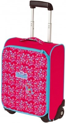 Scout Kindergepäck Kindertrolley Ii Little Flowers 21 Liters Rot 25510029000
