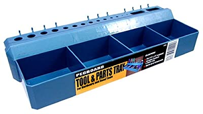 LeHigh Crawford 4 Bin Pegboard Tool and Parts Tray #PT16 from Crawford-Lehigh