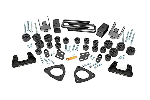 Rough Country 211 - 3.75-Inch Suspension & Body Lift Combo Kit For Chevrolet: Silverado 1500 4Wd/2Wd; Gmc: Sierra 1500 4Wd/2Wd