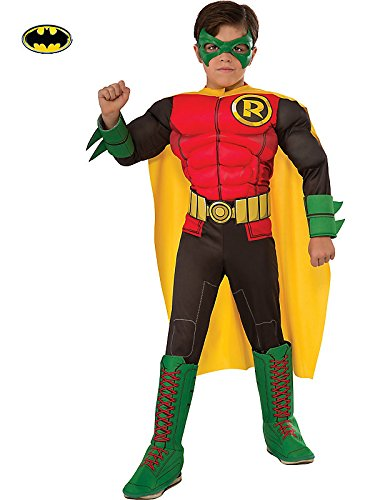 Rubie's Costume DC Superheroes Deluxe Robin Child Costume