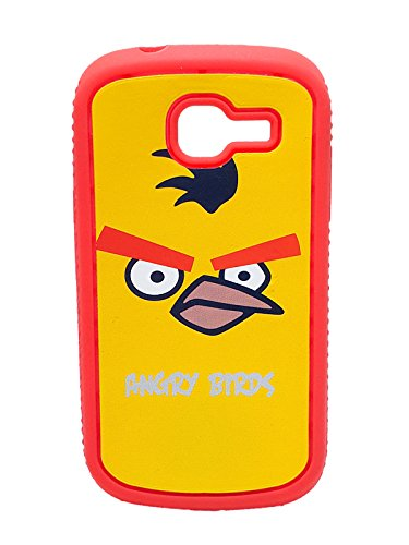 iCandy™ Rubber Printed matt soft Back Cover For Samsung Galaxy Trend GT S7392 - ANGRYBIRD  available at amazon for Rs.109