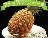 週末限定発送 沖縄産 スナックパイン(ボゴール種)1玉(約700g前後) ランキングお取り寄せ