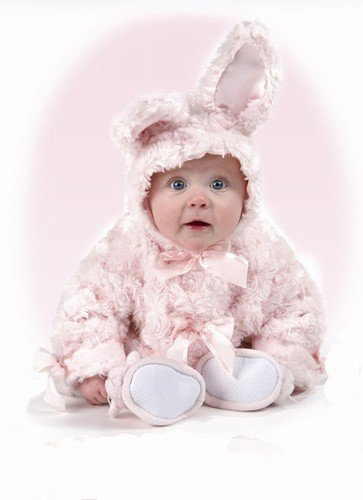 Pink Cottontail Bunny Coat - 6 to 12 Month