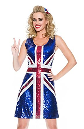 Delicious Women's Plus-Size Brit Beauty Adult Costume