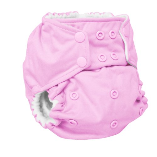 One Size Cloth Pocket Diaper Snap front-202930