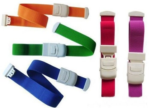 CaseBuy® 5-Pack Elastic First Aid Quick Release