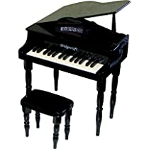 30 Keys Baby Grand Piano - Black Color