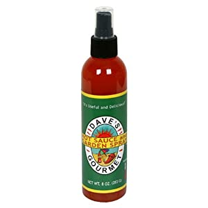 Dave's Hot Sauce and Garden Spray, 8-Ounce Bottles (Pack of 4)