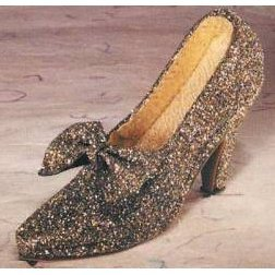 Fete Miniature Shoe - Golden Delights Shoe