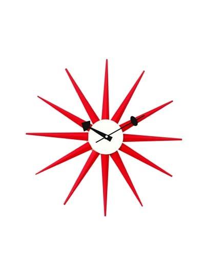 George Nelson Classic Wooden Sunburst Clock