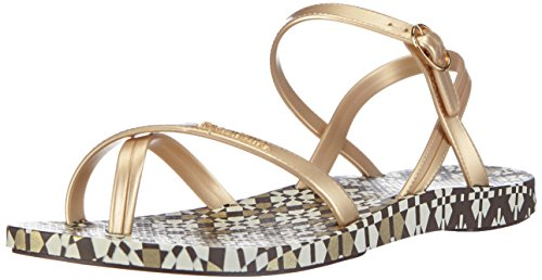 Ipanema Fashion Sand. II, Sandali donna, Oro (Gold (Brown/Gold 21053)), 38