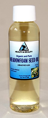 Meadowfoam Seed Oil Organic Carrier Expeller Pressed 100% Pure 2 oz