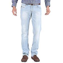 Trigger Men's Regular fit Blue JeansR44K-290S