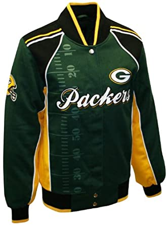 NFL Ladies Green Bay Packers Franchise Twill Jacket by MTC Marketing, Inc