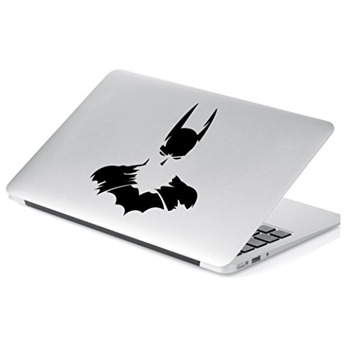 "Batman Decal Sticker for Car Window, Laptop and More. # 815 (6"" x 4.8"", Black)"