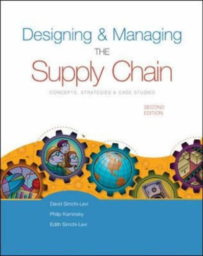 Designing and Managing the Supply Chain...