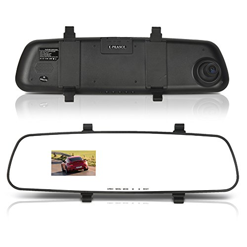 Tprance® A30 Ambarella A2S60 Rear View Mirror Camera Dvr Full Hd 1920*1080P Sos G-Sensor Motion Detection Hdmi Out Port With Mic 8G