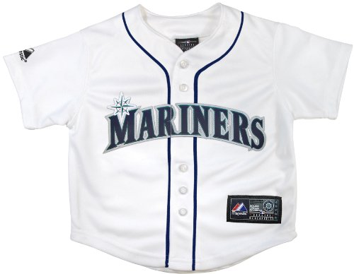 MLB Seattle Mariners Replica Jersey, White, 24 Months at Amazon.com