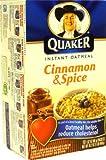 Quaker Oatmeal Cinnamon & Spice