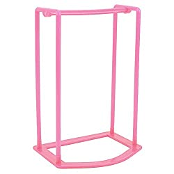 New Smart Design Clothes Hanger Stacker Holder Storage Organizer Rack (Pink)
