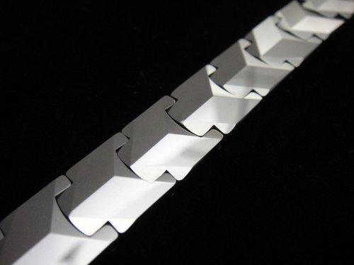 Men Real Tungsten Carbide Heavy Bracelet for Harley Motor Biker TA22