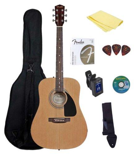 Fender Starter Acoustic Guitar Pack (Fender Starter Pack compare prices)