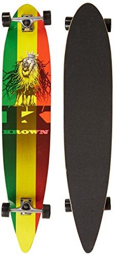Krown Rasta City Surf Longboard Skateboard