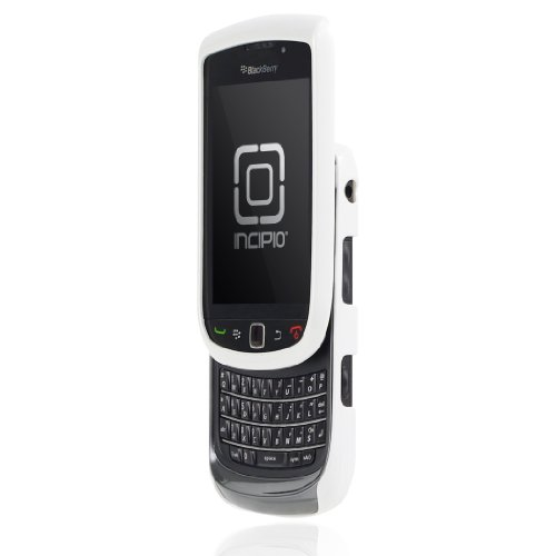 Incipio BlackBerry Torch 9800 9810 feather Ultralight Hard Shell Case - 1 Pack - Carrying Case - Retail Packaging - Glossy Pearl White