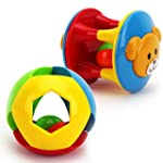 Tangda 2 in 1 Rolling Ball Baby Toy R...