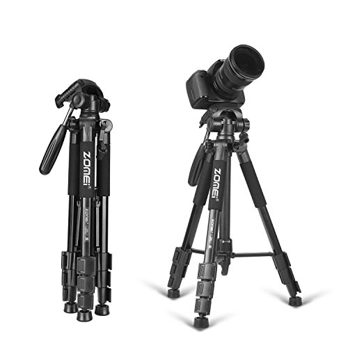 Zomei-56-3-way-Pan-Head-Portable-Lightweight-Travel-Tripod-with-Carrying-Case-for-Video-DSLR-Cameras-Nikon-Canon
