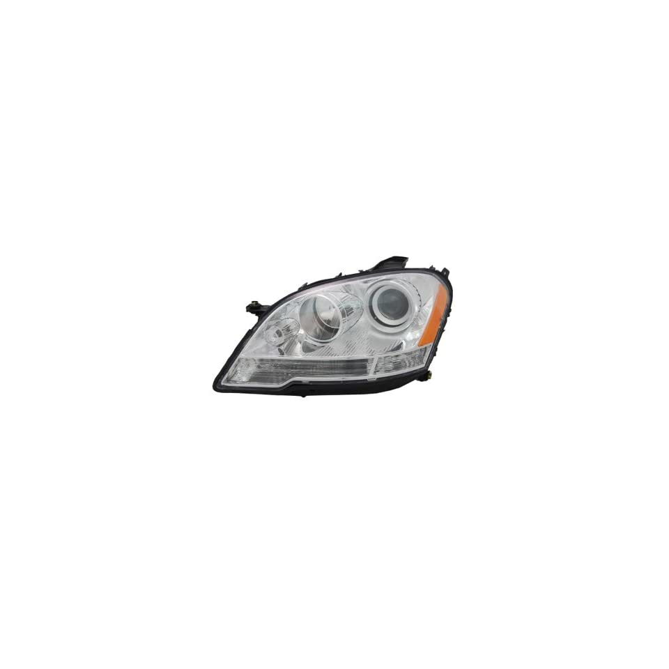 OE Replacement Mercedes Benz Driver Side Headlight Assembly Composite (Partslink Number MB2502171)