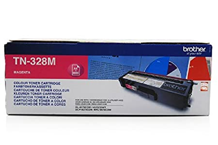 Brother MFC-9970 CDW - Original Brother TN-328M - Cartouche de Toner Magenta - 6000 pages