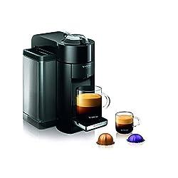 Nespresso GCC1-US-RE-NE VertuoLine Evoluo Coffee and Espresso Maker, Red made by Nespresso