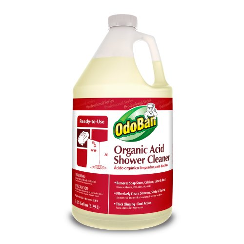 OdoBan 935362-G4 RTU Organic Acid Shower Cleaner, 1 Gallon Bottle (Commercial Bathroom Cleaner compare prices)
