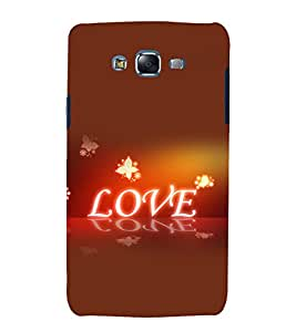 printtech Love Quote Back Case Cover for Samsung Galaxy J2 / Samsung Galaxy J2 J200F