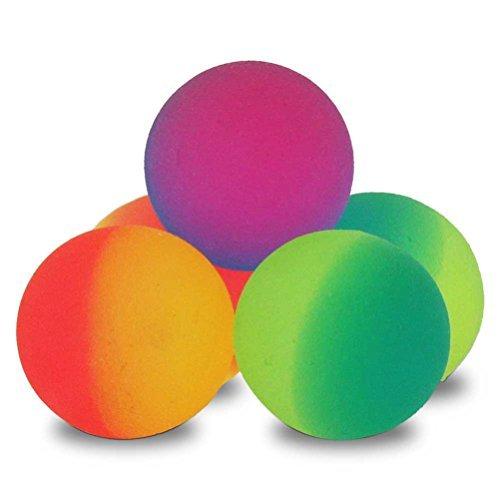 500 x Flummi Neon Hüpfball Springball Flummis 27mm by HC-Handel günstig bestellen