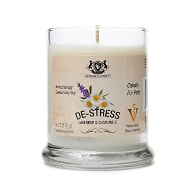Aromatherapy Deodorizing Soy Candle For Pets, Candles Scented, Pet Odor Eliminator & Animal Lover Gift
