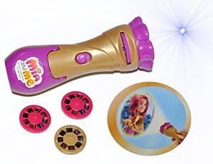 Taschenlampe Projektion LED - Mia and Me mit 3 verschiedenen Aufsätzen Kinder Lampe Projektor - Einhorn Magic Pferde Mädchen Pferd