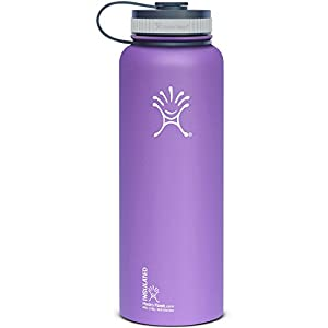 Hydro Flask 40oz Wide Mouth Insulated Bottle Acai Purple One Size