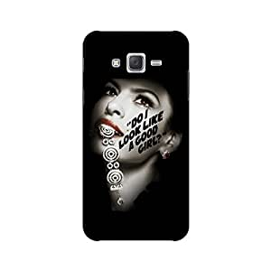 PrintRose Samsung Galaxy j2 2016 back cover - High Quality Designer Case and Covers for Samsung Galaxy j2 2016 Do I look like a good girl