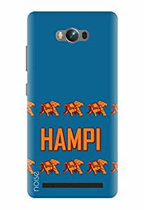 Noise Designer Printed Case / Cover for Asus Zenfone Max / Quotes/Messages / Hampi