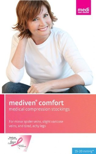 Medi comfort Pantyhose 15-20mmHg Closed Toe, IV, Mocha by Medi-USA kaufen