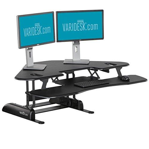 varidesk dual monitor arm manual