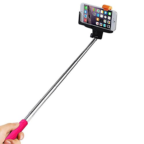 selfie stick ecandy quicksnap pro 3 in 1 self portrait monopod extendable wireless bluetooth. Black Bedroom Furniture Sets. Home Design Ideas