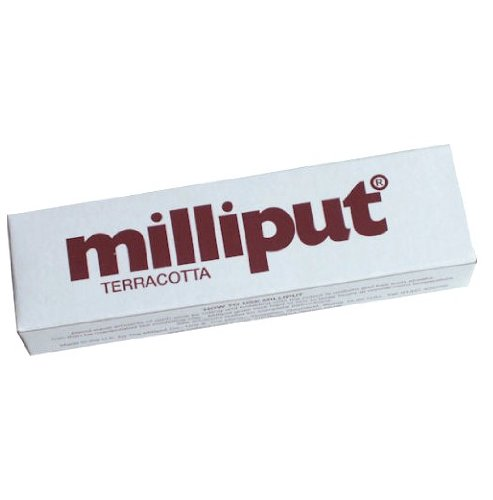 Milliput 2-Part Self Hardening Putty, Terracotta - 1