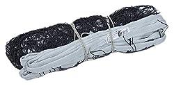 GEE Nylon Standard Size Volleyball Net, All nylon (Black)